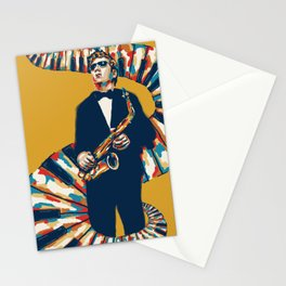 Jazz Festival Poster Stationery Cards