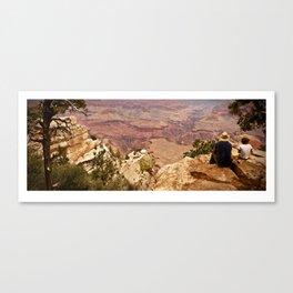 Grand Bonding Canvas Print
