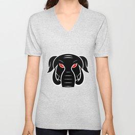 bad Elephant Unisex V-Neck