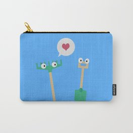 Spade and  Rake in love Carry-All Pouch