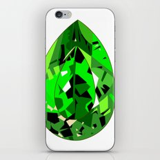 GEMS - green , expensive look , luxury and shine iPhone & iPod Skin