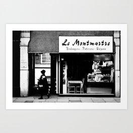 Boulangerie Le Montmartre Art Print