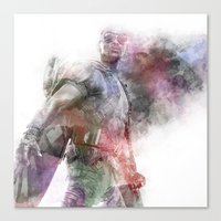 falcon Canvas Prints featuring Falcon by NKlein Design