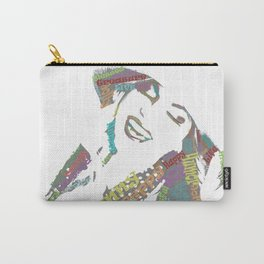 Happy woman II Carry-All Pouch