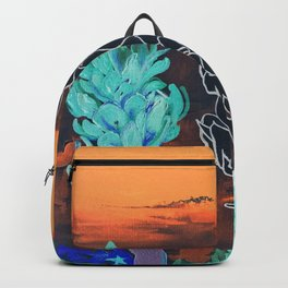 DESERT NIGHT Alpinia Purpurata Backpack