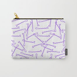 BOBBY PINS ((amethyst)) Carry-All Pouch