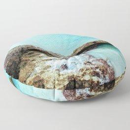 Crashing Waves Floor Pillow