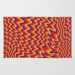 liquify illusion Rug