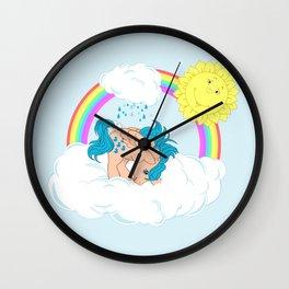 g1 my little pony waterfall Wall Clock