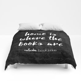 NBJ - Home is Where the Books Are Comforters