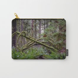 Trail at Capital State Forest Carry-All Pouch