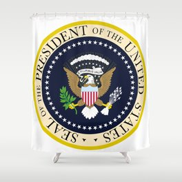 US Presidential Seal Shower Curtain