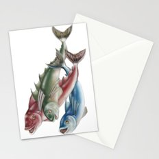 INKYFISH - Fish friends Stationery Cards