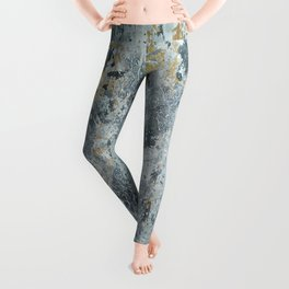 Abstract painting 100 Leggings