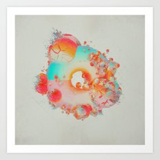 TURBO.COLORFUX8000 (everyday 03.22.17) Art Print