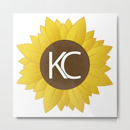 Sunflower KC Metal Print