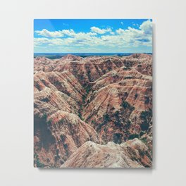 The Canyons (Color) Metal Print