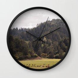 Ferndale Countryside Wall Clock