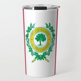 Flag of Raleigh Travel Mug