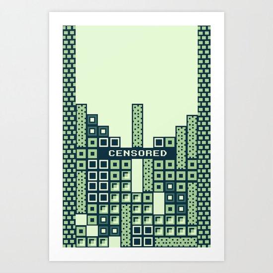 tantric tetris. Art Print