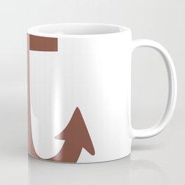 Anchor (Brown & White) Coffee Mug