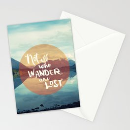 Wander II Stationery Cards