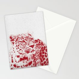 Leopard 01 Stationery Cards