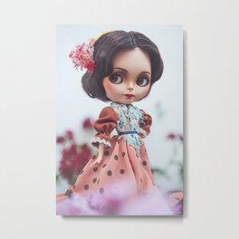 Morena Clara Blythe Custom Doll by Erregiro Metal Print