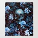 Skull and Flowers by burcukorkmazyurek