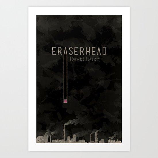 Eraserhead Art Print