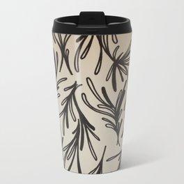 Leaf Branches Print Travel Mug