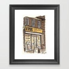 Vipins. Burnt Oak Framed Art Print
