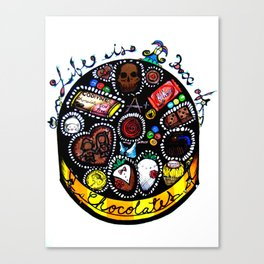 Life is a Box of Chocolates Canvas Print