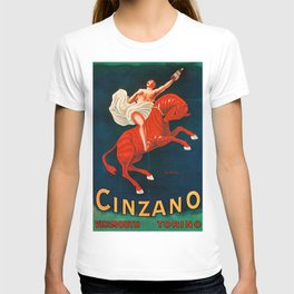 Vintage poster - Cinzano Vermouth Torino T-shirt