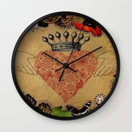 The Claddagh Wall Clock