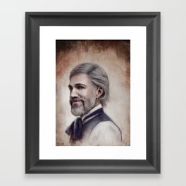 Dr. King Schultz Framed Art Print
