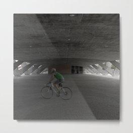 Bike + Rio Museum of Modern Art Metal Print