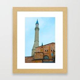 Hagia Sophia - Istanbul, Turkey Framed Art Print