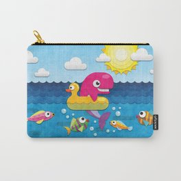 Rookie Whale Carry-All Pouch