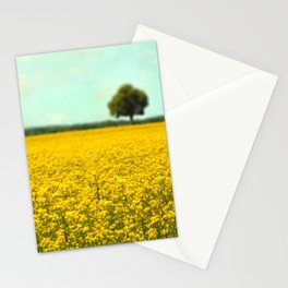 Yellow Fields Stationery Cards