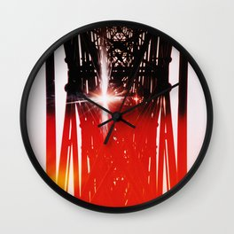 Staring at the sun Wall Clock
