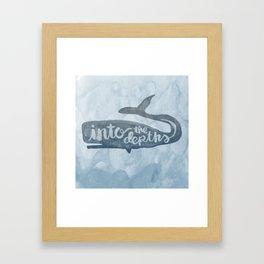 Jonah 2:1-9 Framed Art Print
