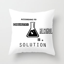 Can't Argue With Science Throw Pillow