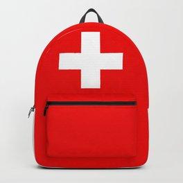 Swiss Flag of Switzerland Backpack