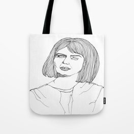 My Kind Of Woman Lines Tote Bag