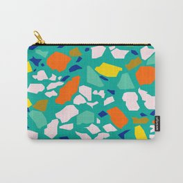 Terazzo Pattern in Pool Carry-All Pouch