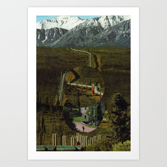 As For the Troubles You Will Face, I Can Only Say Good Luck Art Print