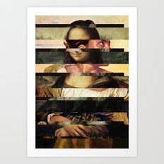 Mona´s Mix 1  Art Print