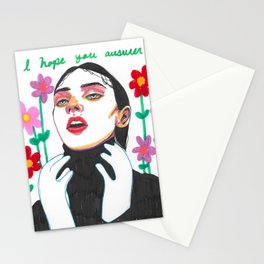 ANSWER Stationery Cards