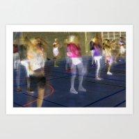 sport Art Prints featuring Sport by Egle Tuleikyte